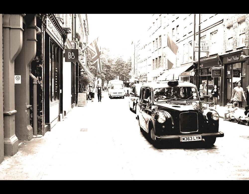 London street by Andreea 's