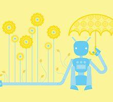 12 Months of Robots - August by Sophia Adalaine Zhou