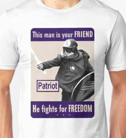 This Man Is Your Friend - Alt-Knight - Based Stick Man - Clothing and Accessories Unisex T-Shirt