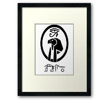 TYWG- Horus Framed Print
