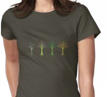 four seasons Womens Fitted T-Shirt