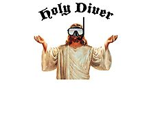 Holy Diver Photographic Print