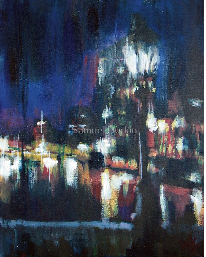 Paris at night part two by Samuel Durkin