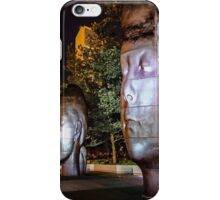 Three faces at night iPhone Case/Skin