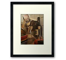 Culinary Instruments Framed Print