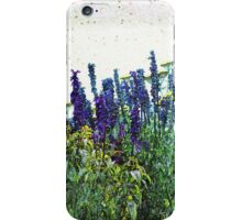 Flowers Drinking Water - Watercolor Look iPhone Case/Skin