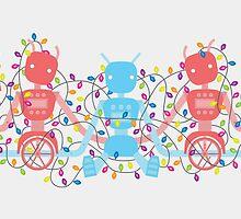 12 Months of Robots - December by Sophia Adalaine Zhou