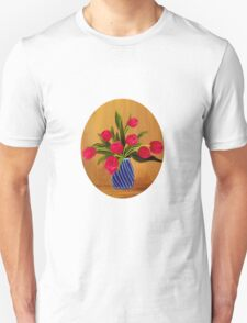 Pink Tulips  T-Shirt