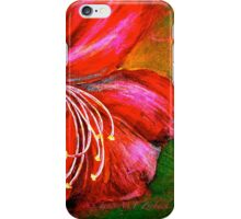 A Blossom Fell.. iPhone Case/Skin