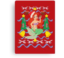 The Merry Mermaid Canvas Print
