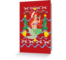 The Merry Mermaid Greeting Card