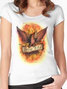 Talonflame - Brave Bird Women's Fitted Scoop T-Shirt