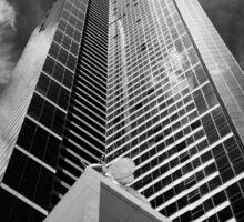 Climbing the walls - Euraka Tower - Melbourne Sticker