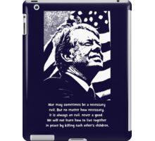 JIMMY CARTER-2 iPad Case/Skin