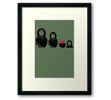 Love Inside Framed Print