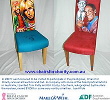 Chairs for Charity by Lee Wilde