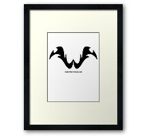Walter the Wicked Framed Print
