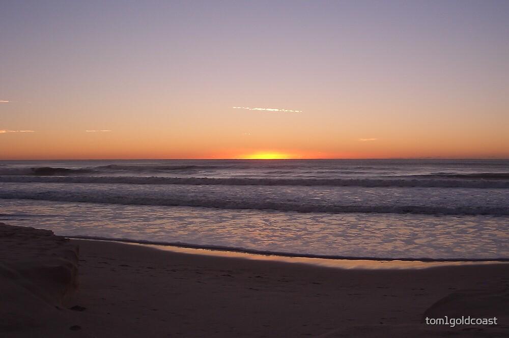 Broadbeach Sunrise by tom1goldcoast