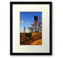 Woodlands Historic Park Framed Print