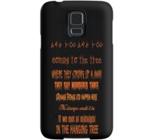 The Hanging Tree Samsung Galaxy Case/Skin