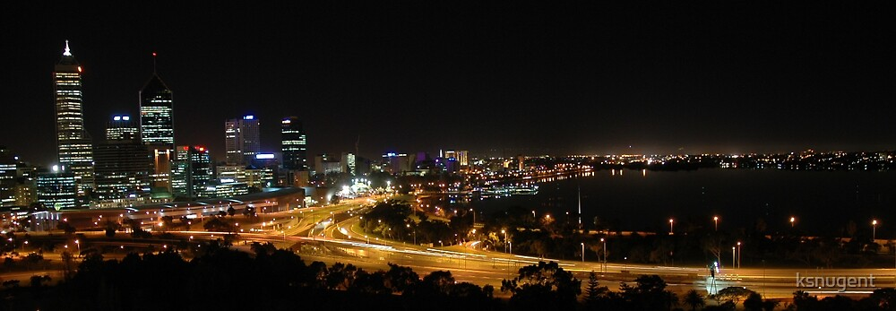 Perth Nightscape by ksnugent