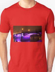 Purple bridge Unisex T-Shirt
