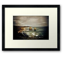 Twelve Apostles at Gibsons Beach, Great Ocean Road, Victoria Framed Print