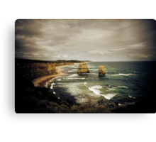 Twelve Apostles at Gibsons Beach, Great Ocean Road, Victoria Canvas Print