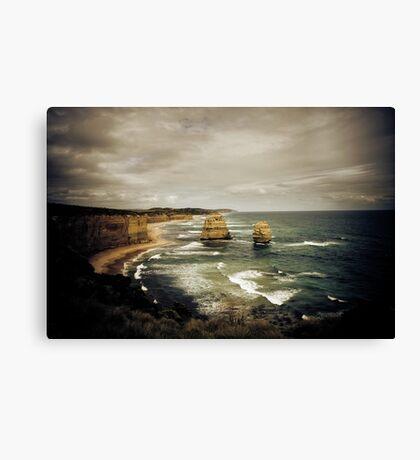 Twelve Apostles at Gibsons Beach, Great Ocean Road, Victoria Canvas Print