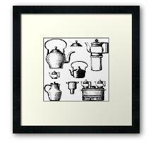 Household goods Framed Print
