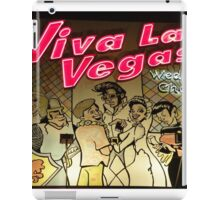 Let's get Married in Viva Las Vegas!! iPad Case/Skin