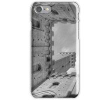 Toscane Siena De Campo Palazzo Publico - Mono iPhone Case/Skin