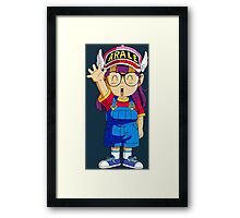 Arale DRAGON BALL Framed Print