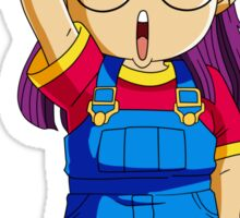Arale DRAGON BALL Sticker