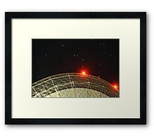 the dish3 Framed Print