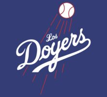 Los Doyers (White)  by The World Of Pootermobile
