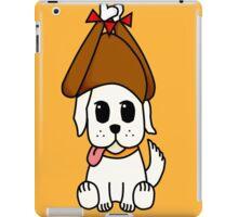 Thanksgiving Puppy iPad Case/Skin