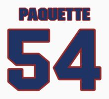 National Hockey player Cedric Paquette jersey 54 by imsport
