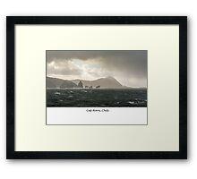 Cap Horn Framed Print