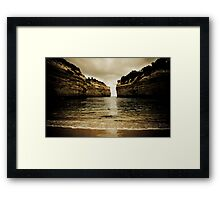 Loch Ard Gorge #2, Great Ocean Road, Victoria Framed Print