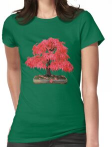 Cherry Maple Womens Fitted T-Shirt