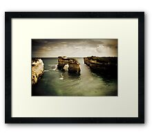 Natural Arch #2, Great Ocean Road, Victoria  Framed Print