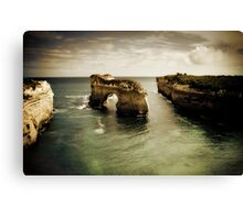 Natural Arch #2, Great Ocean Road, Victoria  Canvas Print