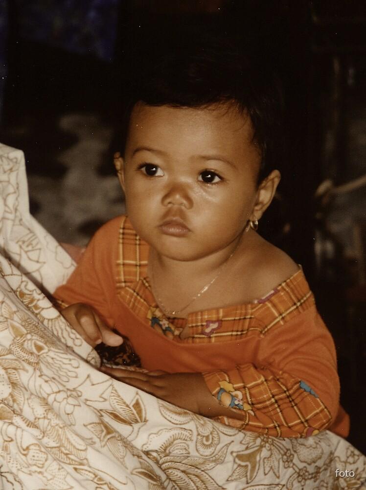 Bali girl by foto