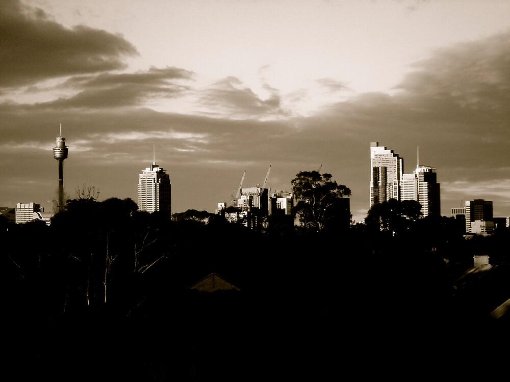 Sydney Skyline by diongillard
