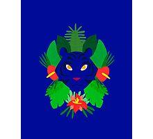 Blue Tiger Photographic Print