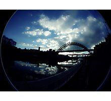 Experimental Fisheye View Of Tyne Bridge Photographic Print