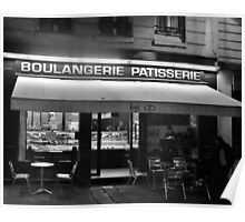Paris, Bakery at Night Poster