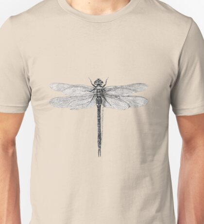 Dragonfly sketch Unisex T-Shirt