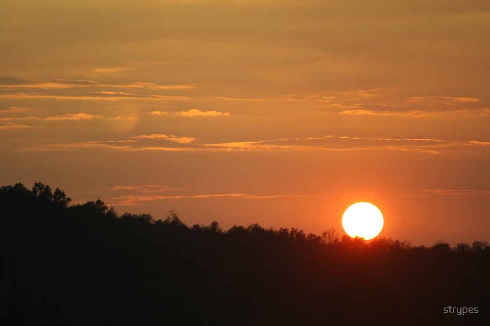 sunset@70mph by strypes
